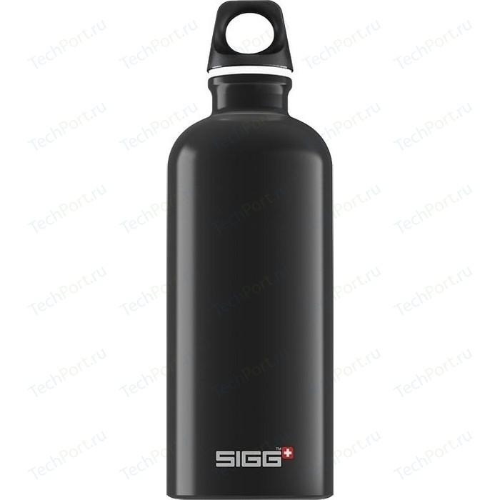 Фото - Бутылка для воды 0.6 л Sigg Traveller (8327.30) черная бутылка для воды sigg sigg leaf 1л
