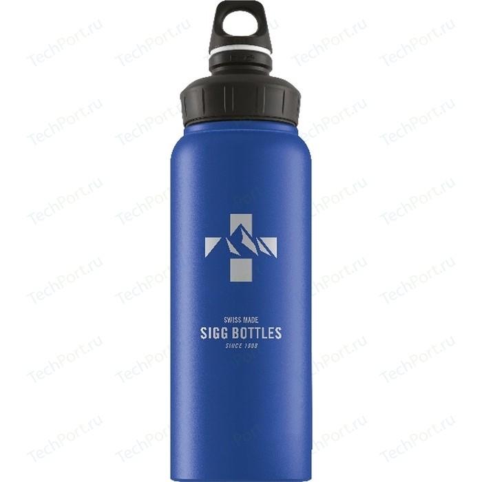 Фото - Бутылка для воды 1 л Sigg WMB (8745.00) голубая бутылка для воды sigg sigg leaf 1л