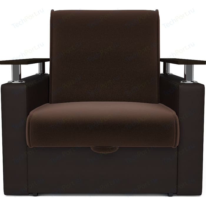 Кресло-кресло Mebel Ars Шарм шоколад ППУ