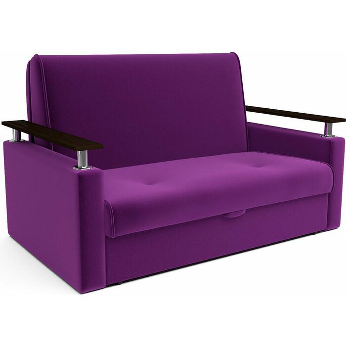 Кресло-кровать Mebel Ars Шарм фиолет ППУ