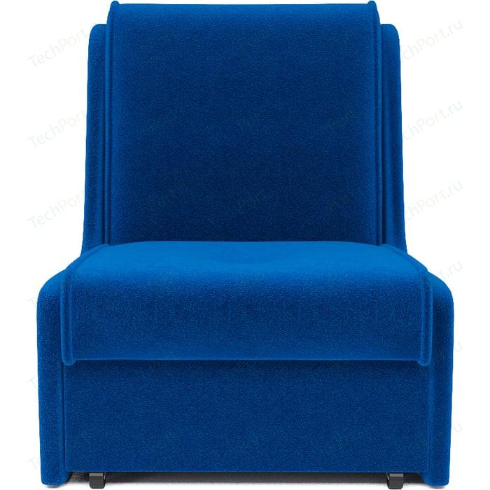 Кресло-кровать Mebel Ars Аккорд № 2 астра синяя ППУ