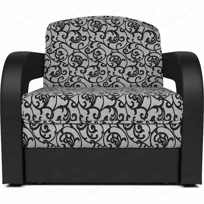 Кресло-кровать Mebel Ars Кармен 2 кантри кожа ППУ