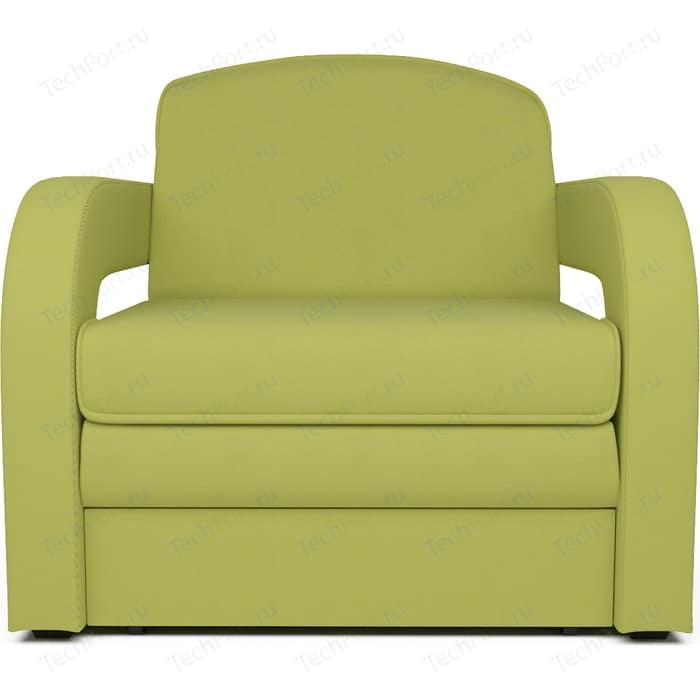 Кресло-кровать Mebel Ars Кармен 2 - астра зеленая ППУ