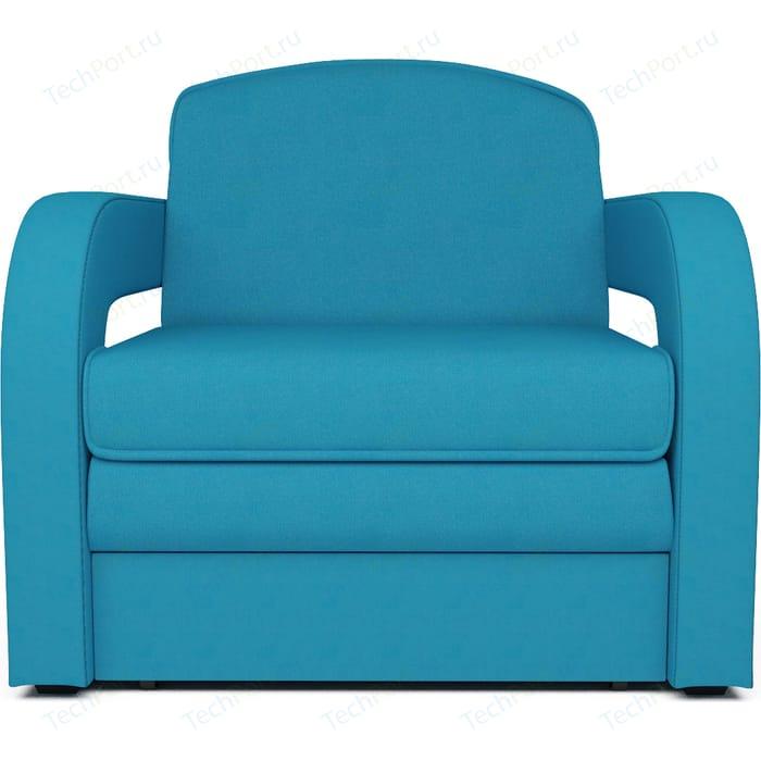 Кресло-кровать Mebel Ars Кармен 2 синяя ППУ