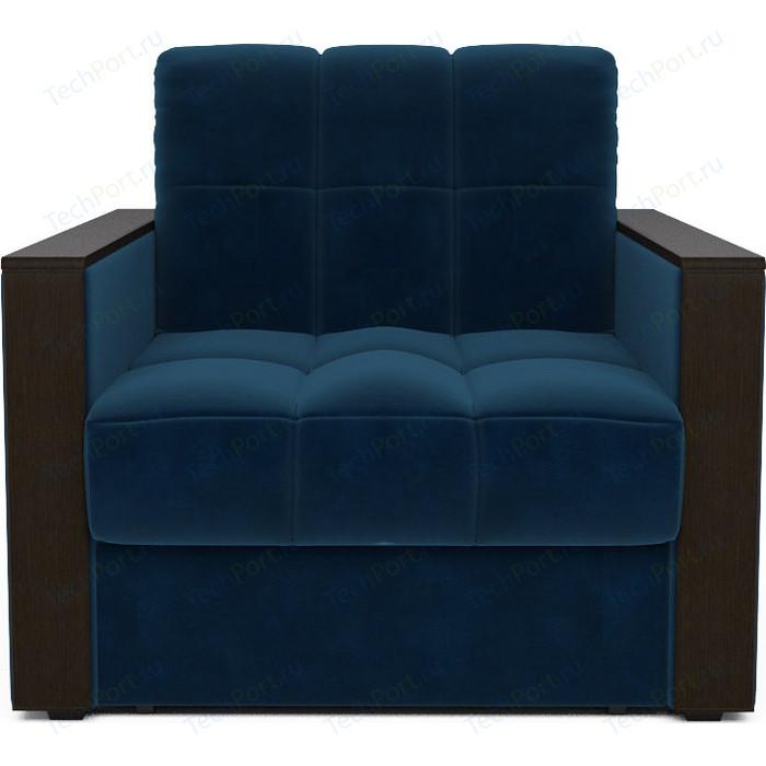 Кресло-кровать Mebel Ars Техас темно - синий ППУ