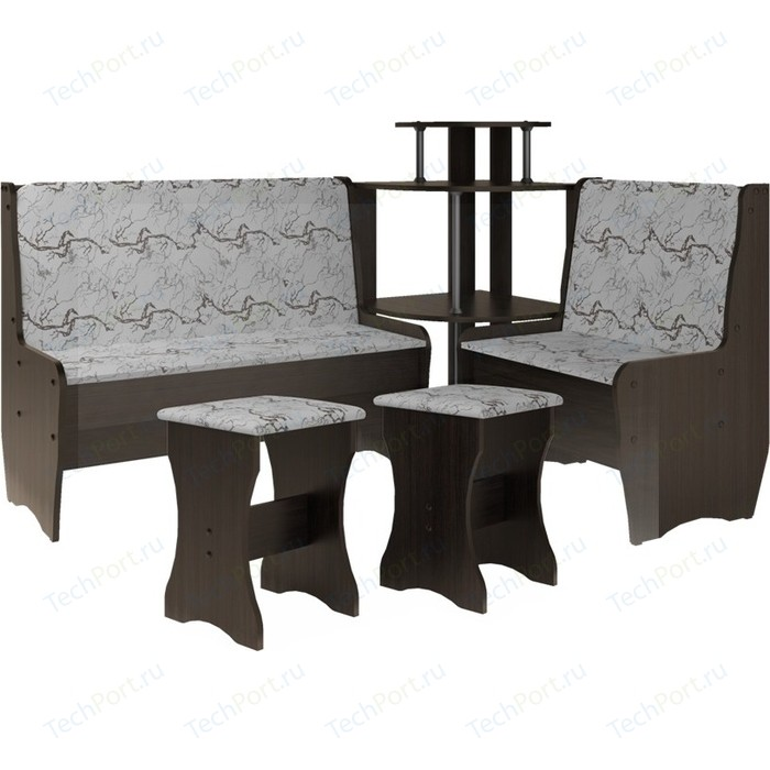 Кухонный набор Атлант Тэссера без стола 629/1-бежевая, венге магия
