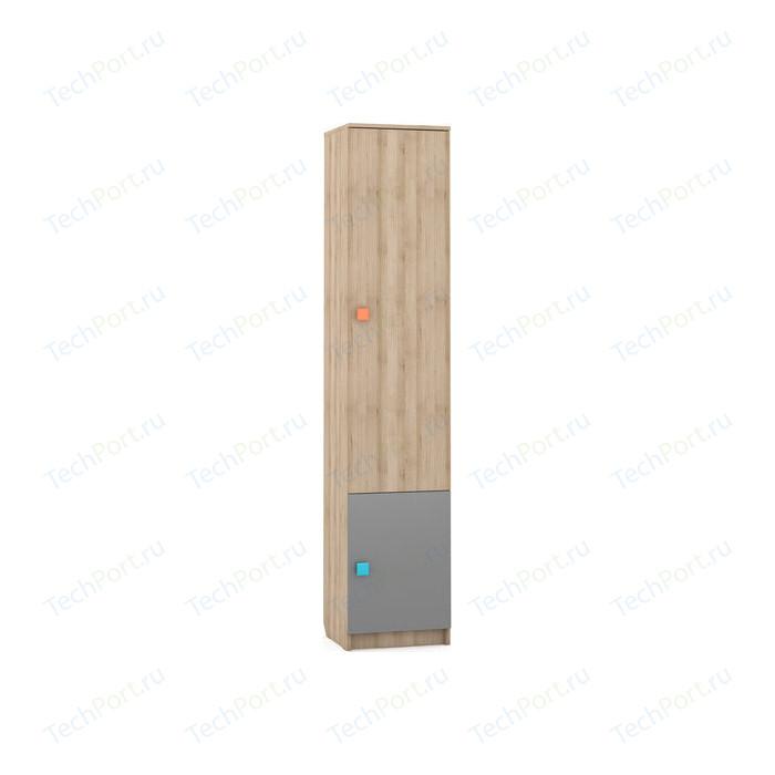 Стеллаж Моби Доминика 461 бук песочный/серый шифер
