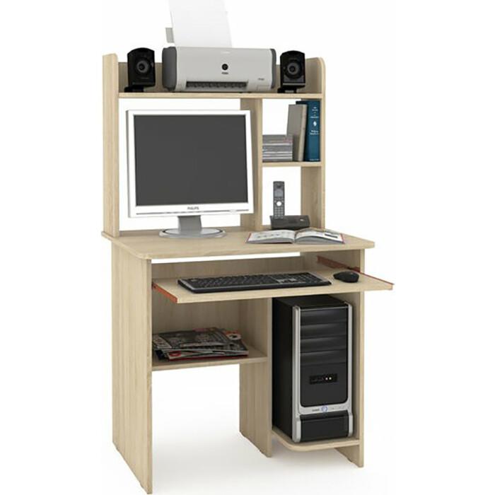 Стол компьютерный Моби Комфорт 3СК дуб сонома