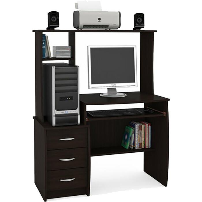 Стол компьютерный Моби Комфорт 5 СКР венге магия