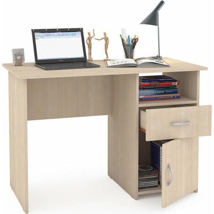 Стол компьютерный Моби Комфорт 11 СК дуб паллада