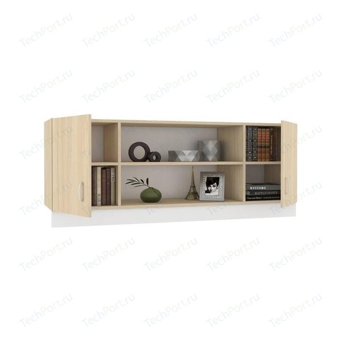 Шкаф навесной Моби Линда 313 160 дуб сонома/белый недорого
