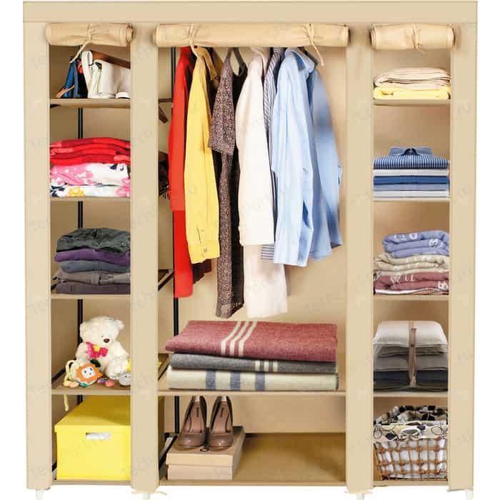 Мобильный шкаф ArtMoon MONTREAL для одежды складной ширина 135х45х175 см