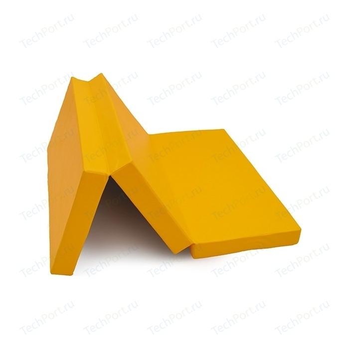 Мат КМС № 4 (100 x 150 10) складной жёлтый