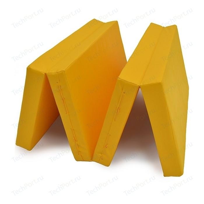 Мат КМС № 5 (100 x 200 10) складной жёлтый