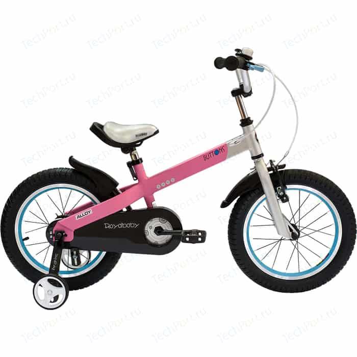 Велосипед Royal Baby BUTTONS ALLOY 16 Розовый