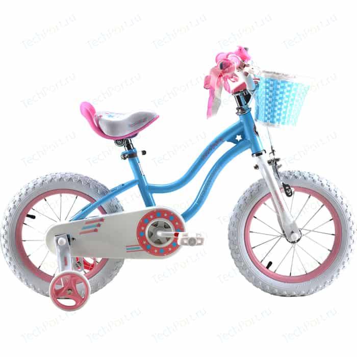 Велосипед Royal Baby STAR GIRL 14 Синий