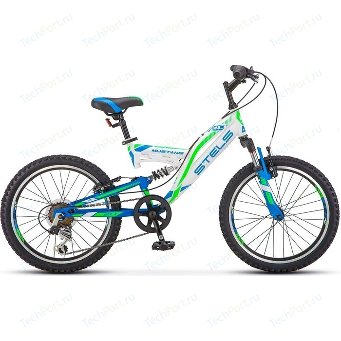 Велосипед Stels Mustang V 20 V010 (2018) 13 Белый