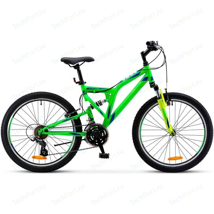 Велосипед Stels Mustang V 24 V020 16 Неоновый-зелёный