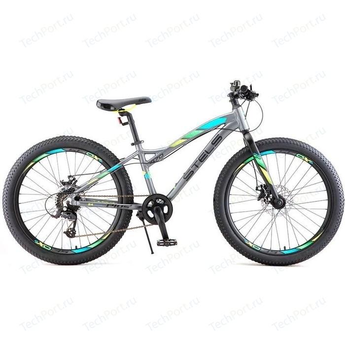 Велосипед Stels Navigator 470 MD 24+ V010 (2018) 13.5 Антрацитовый велосипед stels navigator 670 md 2015