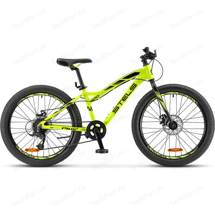 Велосипед Stels Navigator 470 MD 24+ V010 (2018) 13.5 Неоновый лайм велосипед stels navigator 670 md 2015