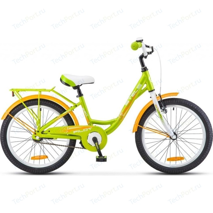Двухколесный велосипед Stels Pilot 220 Lady 20 V010 зеленый