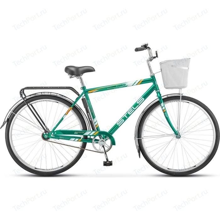 велосипед stels navigator 340 28 z010 20 черный Велосипед Stels Navigator-300 Gent 28 Z010 20 Зелёный