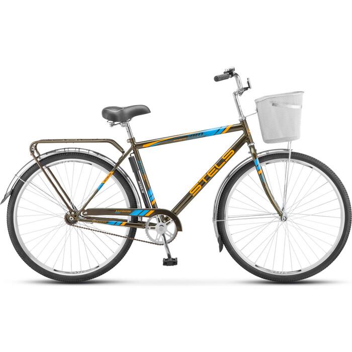 велосипед stels navigator 340 28 z010 20 черный Велосипед Stels Navigator-300 Gent 28 Z010 20 Серый