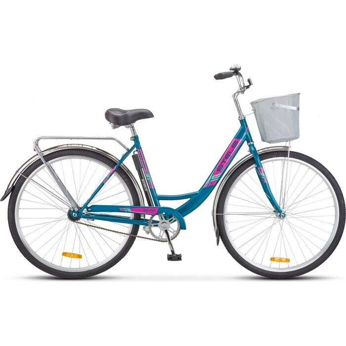 велосипед stels navigator 340 28 z010 20 черный Велосипед Stels Navigator-345 28 Z010 20 Морская-волна