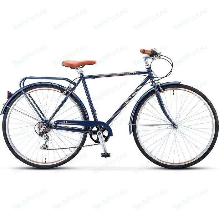 велосипед stels navigator 800 lady 28 v010 17 синий Велосипед Stels Navigator-360 28 V010 20.5 Синий