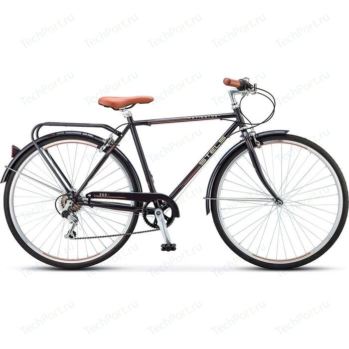 Велосипед Stels Navigator-360 28 V010 21.5 Чёрный