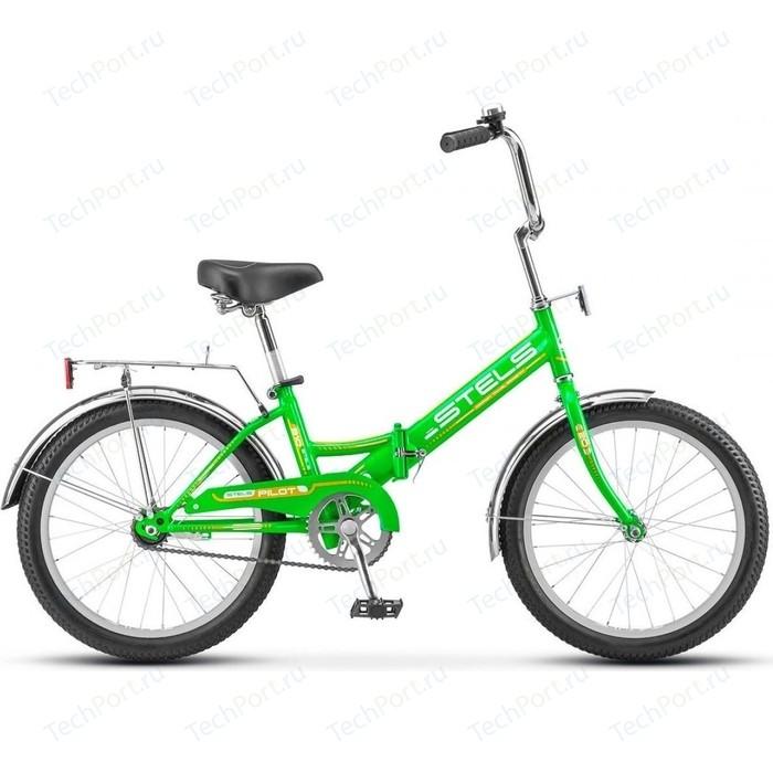 Велосипед Stels 20 Pilot 310 Z011 (Зелёный/Жёлтый) 2020