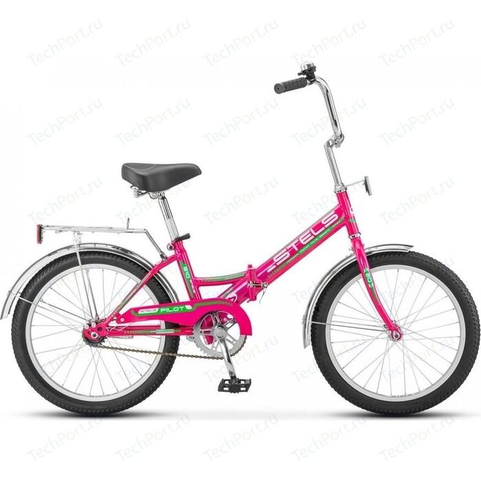 Велосипед Stels Pilot-310 20 Z011 13 Малиновый