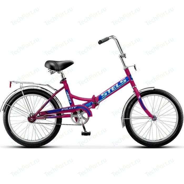 Велосипед Stels Pilot 410 20 Z011 (2018) 13.5 Фиолетовый велосипед stels pilot 350 20 z011 2017