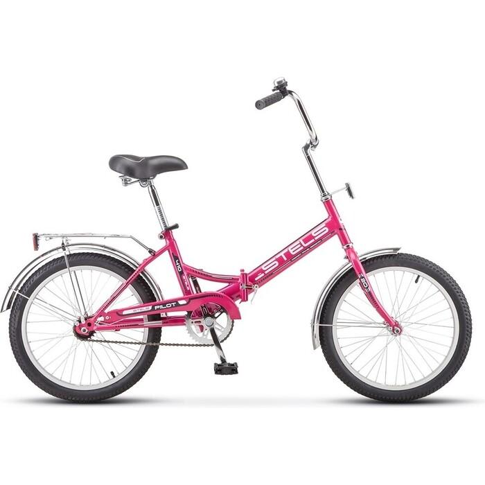 Велосипед Stels Pilot 410 20 Z011 (2018) 13.5 Малиновый велосипед stels pilot 350 20 z011 2017