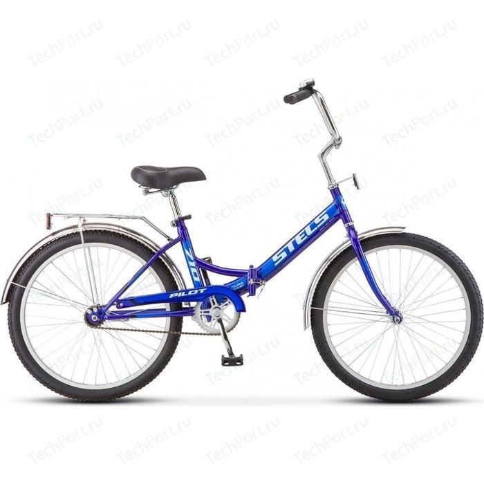Велосипед Stels Pilot-710 24 Z010 16 Синий