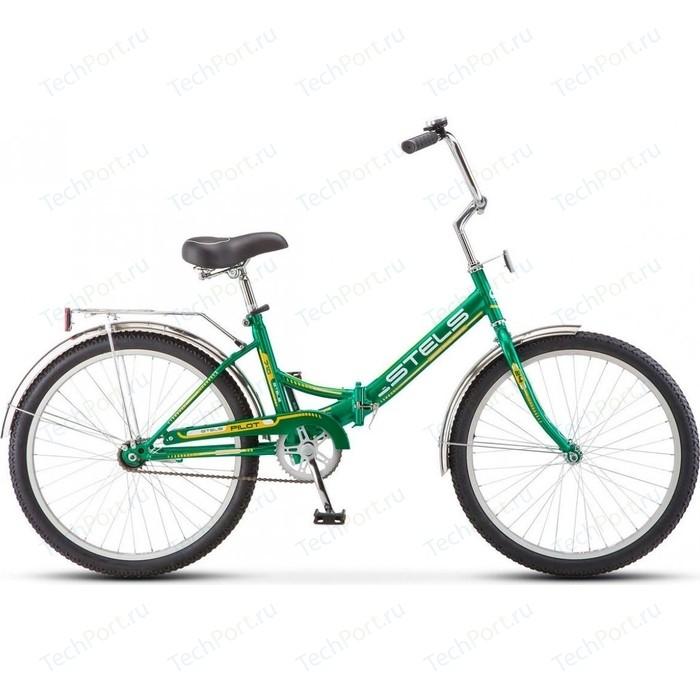 Велосипед Stels Pilot-710 24 Z010 16 Зелёный/жёлтый