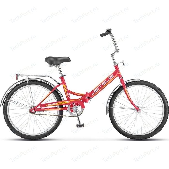 Велосипед Stels Pilot-710 24 Z010 16 Малиновый