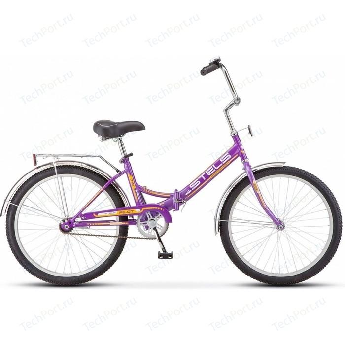 Велосипед Stels Pilot-710 24 Z010 16 Фиолетовый