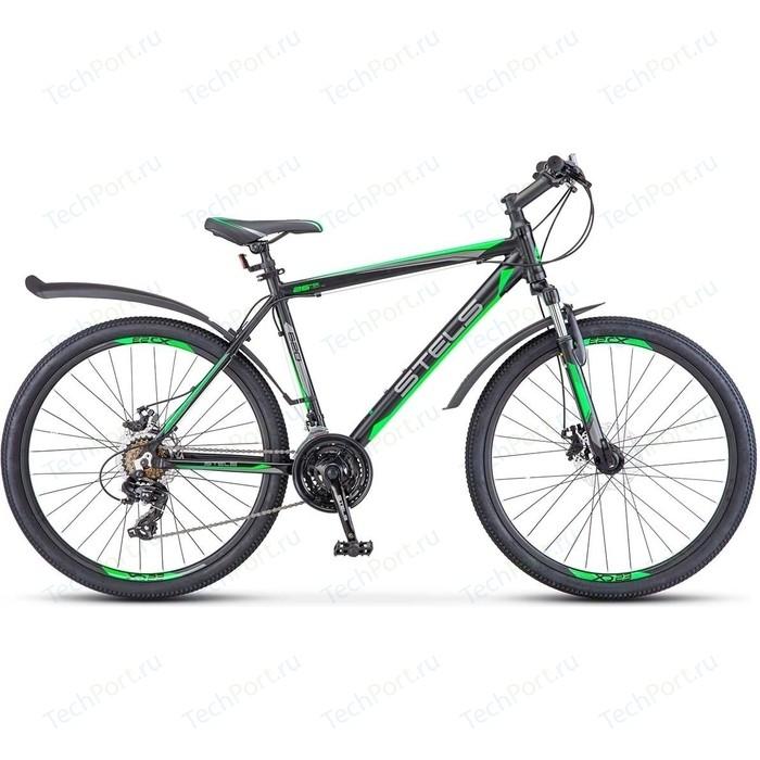 Велосипед Stels Navigator 620 MD 26 V010 (2018) 14 Черный/зеленый/антрацит велосипед stels navigator 670 md 2015