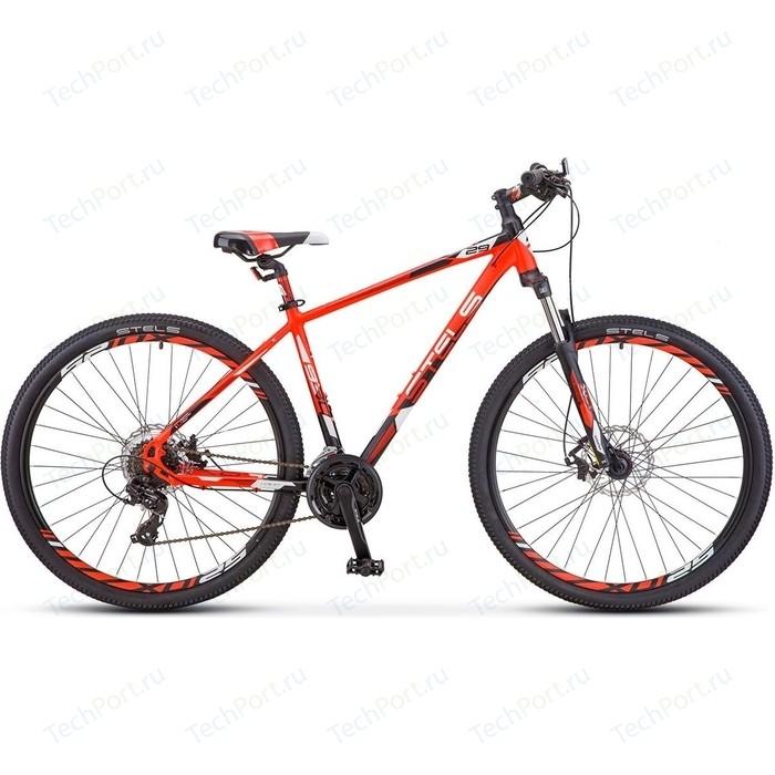 Велосипед Stels Navigator 930 MD 29 V010 (2019) 16.5 Неоновый красный/черный велосипед stels navigator 670 md 2015