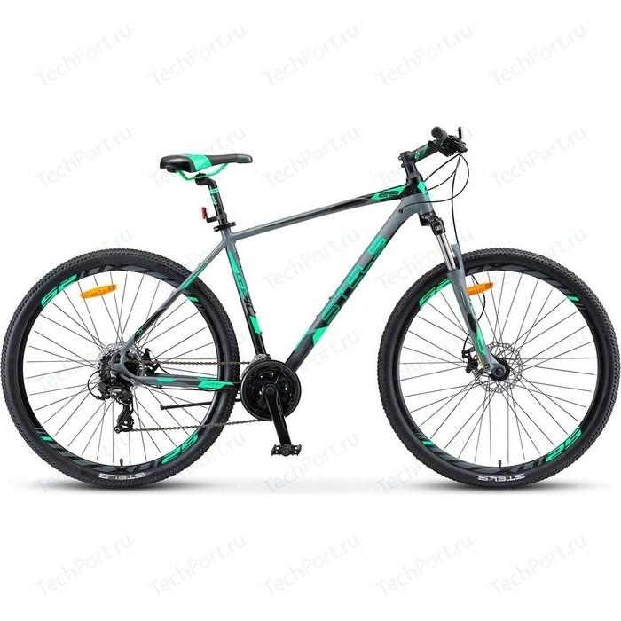 Велосипед Stels Navigator 930 MD 29 V010 (2019) 16.5 Серый/черный велосипед stels navigator 670 md 2015
