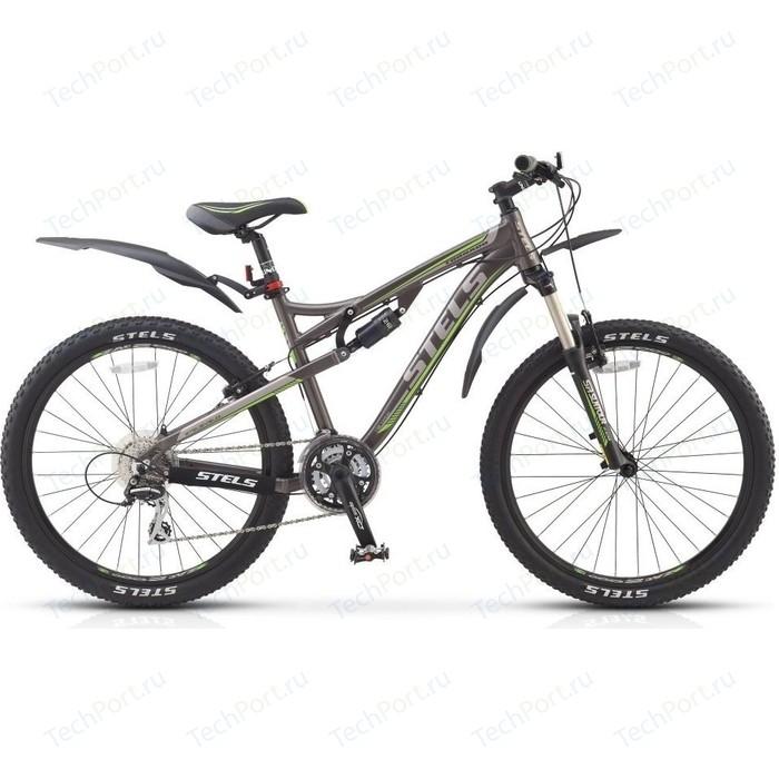 цена на Велосипед Stels Tornado V 26 (2015) 17 Тем серый/серебр/зеленый