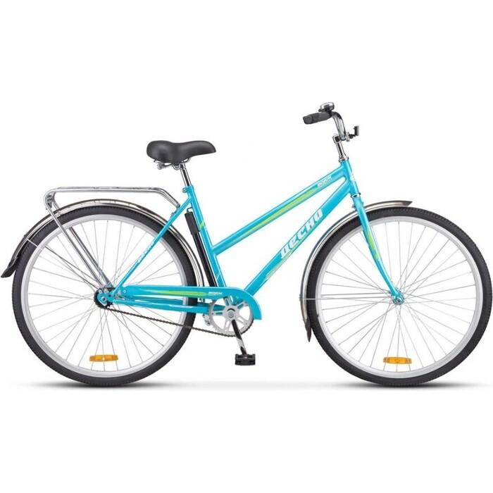 Велосипед Десна Вояж Lady 28 Z010 20 Голубой