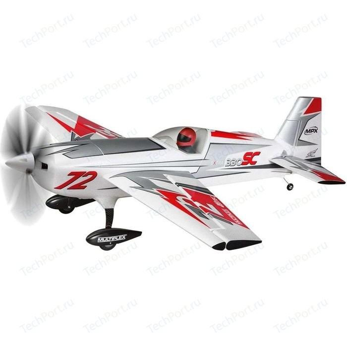 Радиоуправляемый самолет Multiplex RR Extra 330 SC silver-red