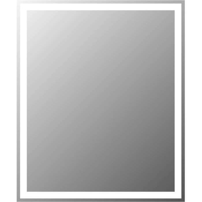 Зеркало BelBagno Spc 60 с подсветкой, кнопочный выключатель (SPC-GRT-500-600-LED-BTN)
