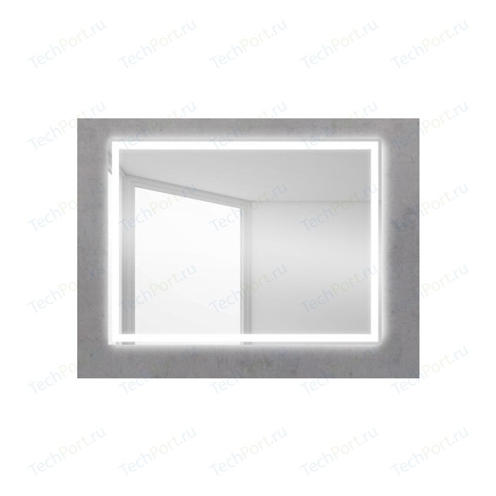 Зеркало BelBagno Spc 80 с подсветкой, кнопочный выключатель (SPC-GRT-500-800-LED-BTN)