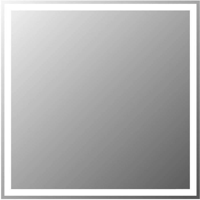 Зеркало BelBagno Spc 60 с подсветкой, кнопочный выключатель (SPC-GRT-600-600-LED-BTN)