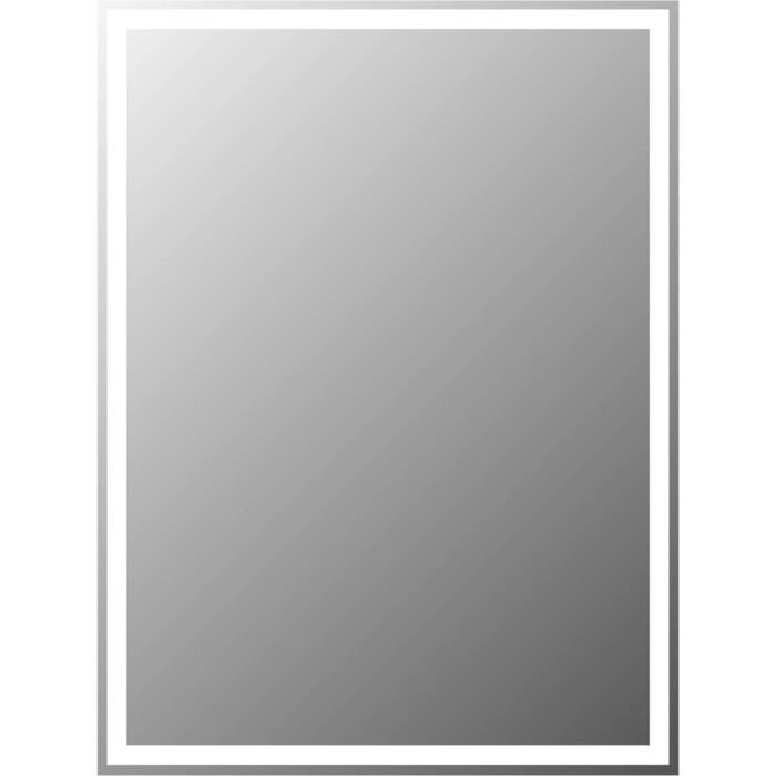 Зеркало BelBagno Spc 80 с подсветкой, кнопочный выключатель (SPC-GRT-600-800-LED-BTN)