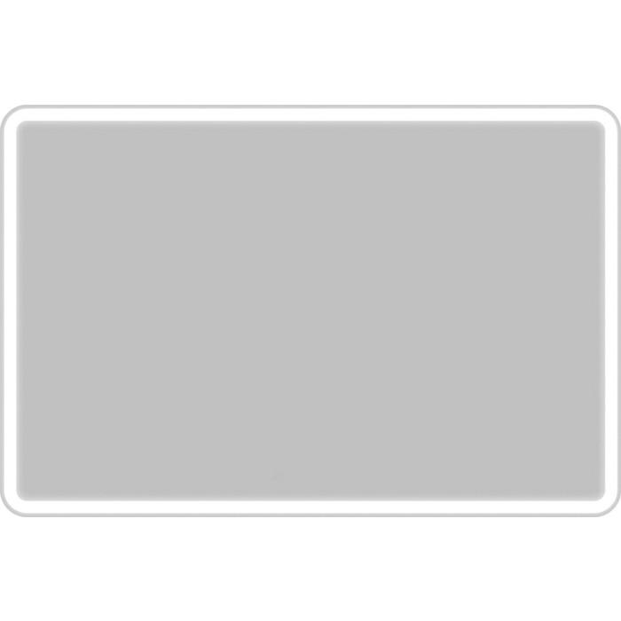 Зеркало BelBagno Spc 120 с подсветкой, кнопочный выключатель (SPC-MAR-1200-800-LED-BTN)