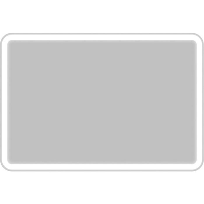 Зеркало BelBagno Spc 90 с подсветкой, кнопочный выключатель (SPC-MAR-900-600-LED-BTN)